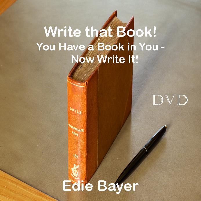 Write that Book Author Seminar on DVD to watch!